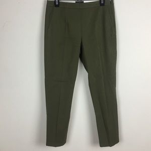 J. Crew Martie olive green dress pants size 8